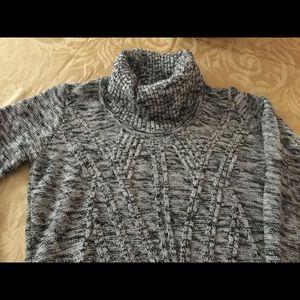 Long tunic sweater